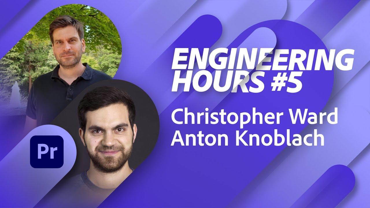Adobe Engineering Hours #5 – Triff das Team hinter Premiere Pro |Adobe Live