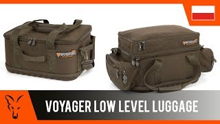 ***FOX CARP FISHING TV POLSKA*** Torby Voyager Low Level