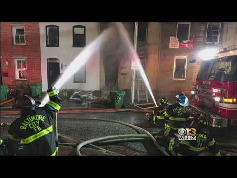 2 Injured In West Baltimore House Fire