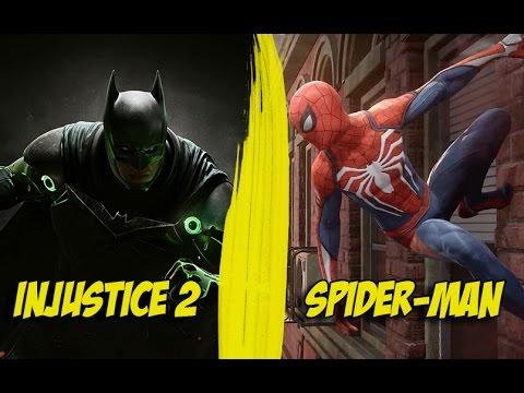 Nouveaux jeux injustice 2 et spider man youtube - Et spider man ...