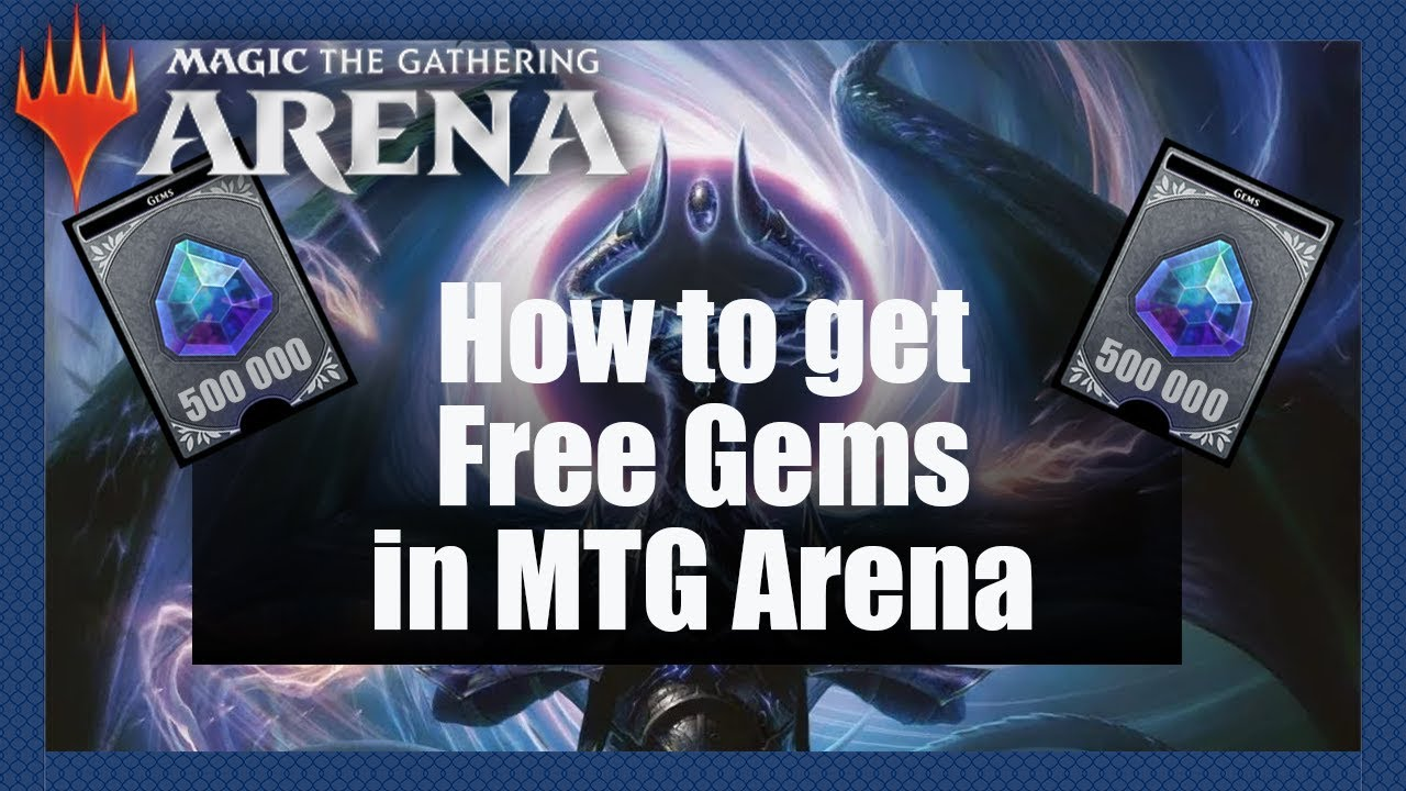 How To Get Free Gems In MTG Arena | Core Set 2020