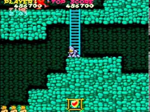 Ghosts'n Goblins - US Version Arcade - 1CC ( 1 credit clear )