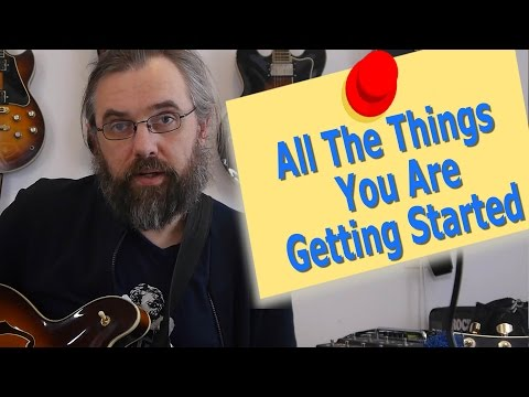 WebStore - All The Things You Are - Getting Started Soloing