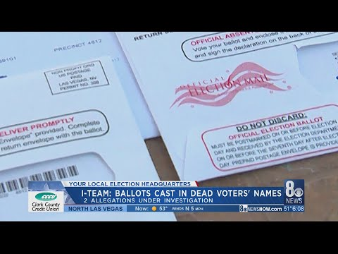 I-Team: County received mail-in ballot from Nevada woman who died in 2017; state investigating 2 all