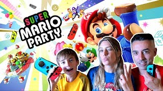 SUPER MARIO PARTY NINTENDO SWITCH EN FAMILIA
