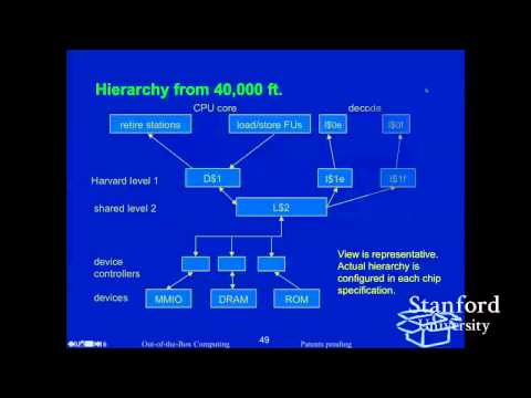 Stanford Seminar - Mostly Missless Memory in the Mill CPU