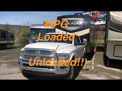 2018 RAM 2500 Cummins - Keystone Cougar 368MBI - MPG Run Unloaded Then Towing 12,000 Pounds!!!