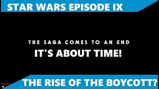 Star Wars Episode IX The Rise of Skywalker Trailer - I am not hyped ... at all