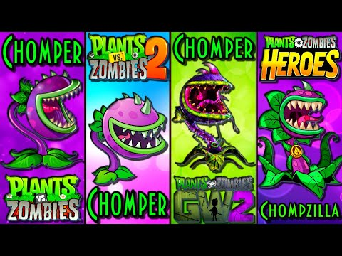 Plants Vs Zombies Evolution PvZ How Plants Have Changed In The Game Plantas Contra Zombies