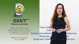 AIM GLOBAL PRODUCTS  C24/7 NATURA-CEUTICALS (Tagalog Version )