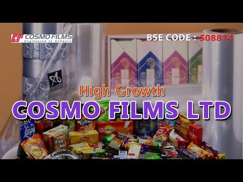 High Growth Stock | Cosmo Films Ltd | Investing | Finance | Stocks and Shares | Dividend Stocks