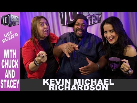 Kevin Michael Richardson PT1  Voice of Cleveland Jr.  Voice Over Advice EP 101