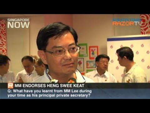 MM Lee endorses Heng Swee Keat