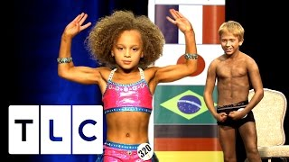 8 Year Old Competes In Bodybuilding Contest | Baby Bodybuilders