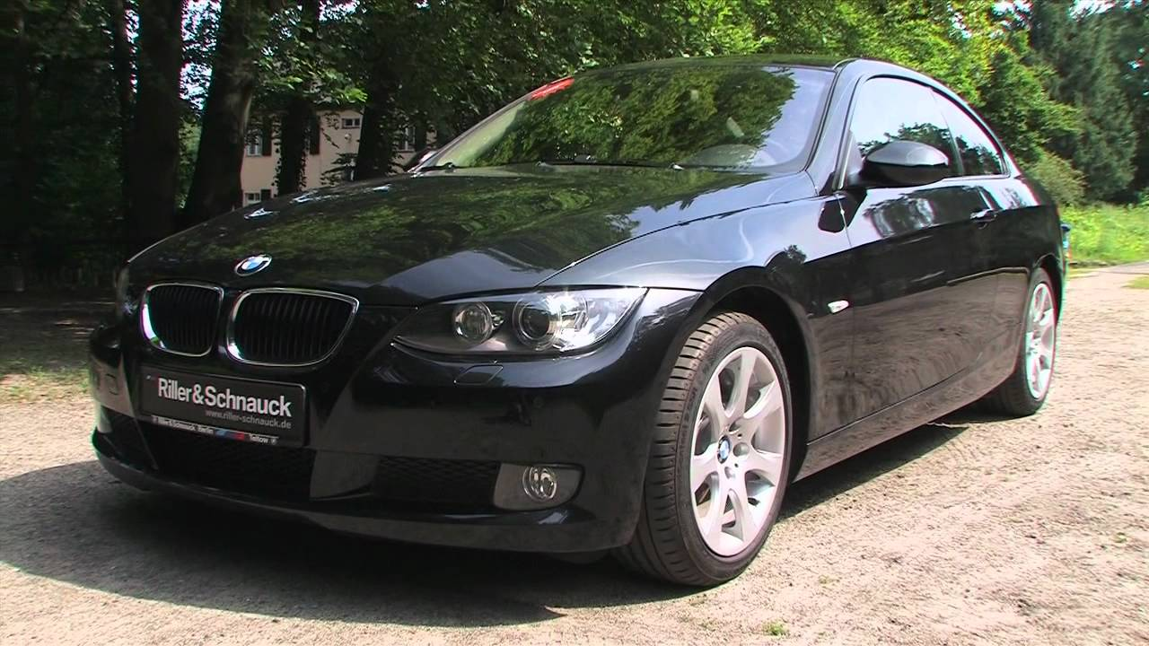 bmw 320d coup e92 sportlich sparsam youtube. Black Bedroom Furniture Sets. Home Design Ideas
