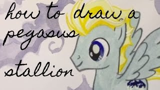 How to Draw Pegasus Stallions