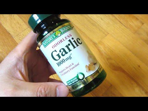Nature Bounty Odorless Garlic Pills