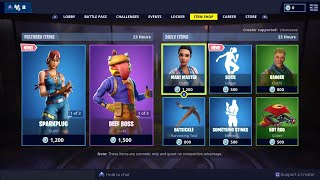 *NEW* SLICK Emote, BEEF BOSS Skin is BACK - February 11th Fortnite Daily Item Shop LIVE