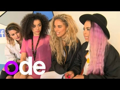 Neon Jungle interview: The girls reveal they want to tour with Justin Bieber