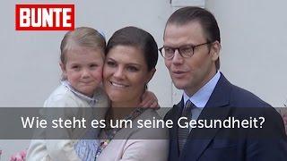 Victoria von Schweden- Wie steht es wirklich um Daniels Gesundheit?  - BUNTE TV