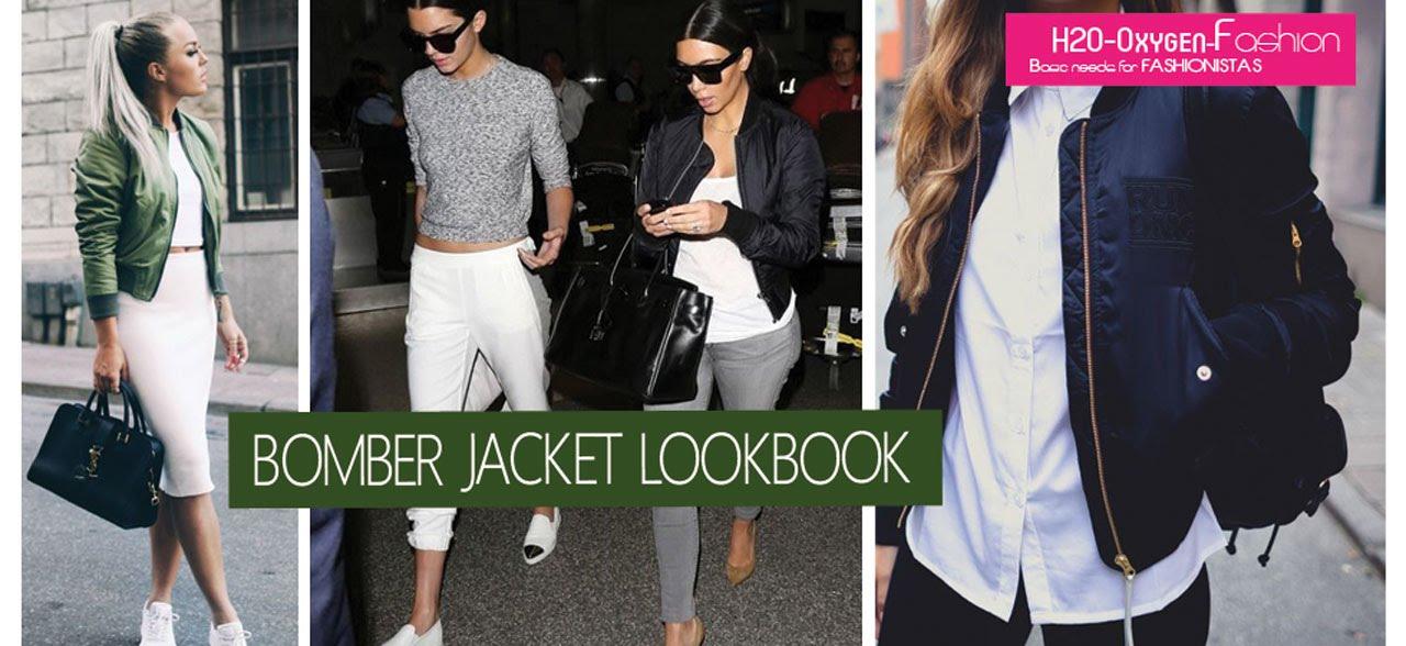 Bomber Jacket Fall/Winter Style Lookbook - YouTube