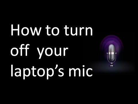 How to Disable Microphones to Prevent Facebook Google a ...