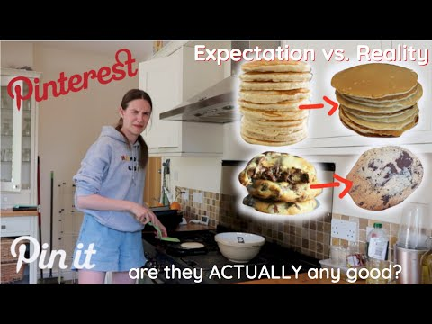 Trying Pinterests most pinned recipes *are they actually good?*