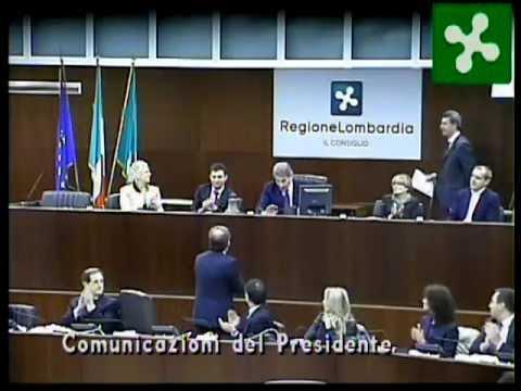 Primo Consiglio Regione Lombardia - Maroni - 27032013