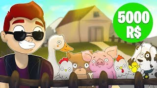 🔥 WE MAKE THE LARGEST FARM OF PECTS FOR 5000R $ | Roblox