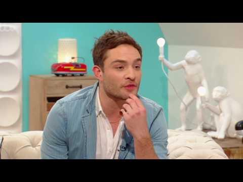 Ed Westwick on ITV Weekend 05/27/17