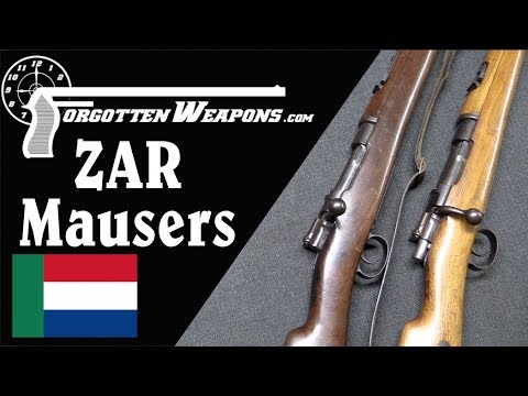 Dutch Farmers Against the Empire: ZAR Mausers of the Boer Wa