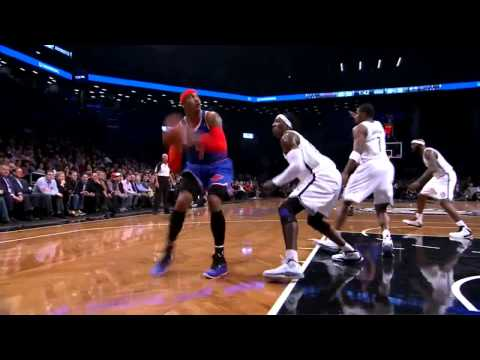 Carmelo Anthony 45 points vs Brooklyn Nets - FULL HIGHLIGHTS 12/11/12 HD