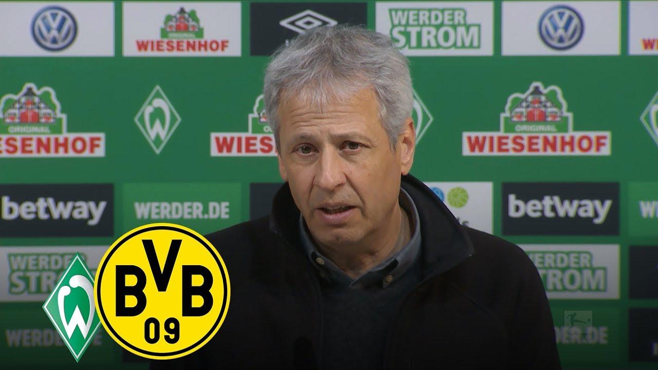 Schmerzhaftes Unentschieden in Bremen | PK mit Lucien Favre und Florian Kohfeldt | Werder - BVB 2:2