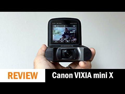 Canon VIXIA mini X Review
