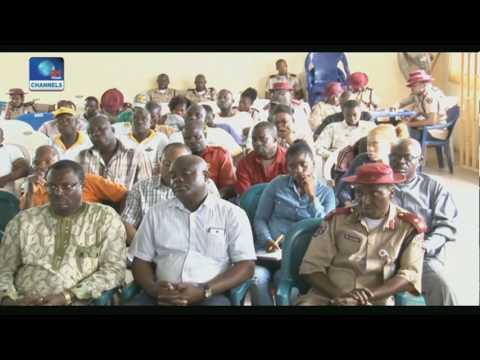 News Across Nigeria: Gov Wike Swears In LG Caretaker Cmte Chairman Pt 2