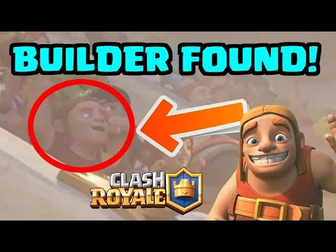 Builder Found In Clash Royale Arena! NO JOKE! | What Could This Mean? | Clash of Clans Clashiversary