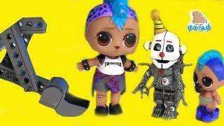 #ФНАФ! Куклы Лол #Помощь Эннарда FNAF Видео для детей! Игрушки с  My Toys Potap