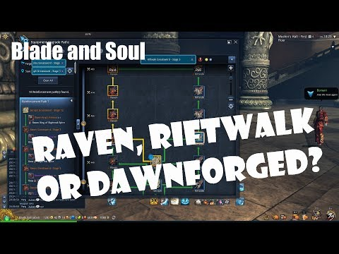 Blade and Soul Raven, Rfitwalk, or Dawnforged Weapon: Which is Best for You?