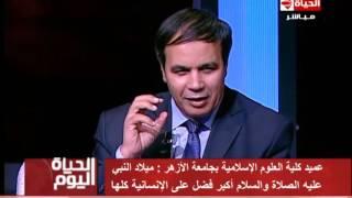 بالفيديو.. أزهري: من ينكر الاحتفال بالمولد النبوي عليه أن ينقطع عن صلاة التراويح