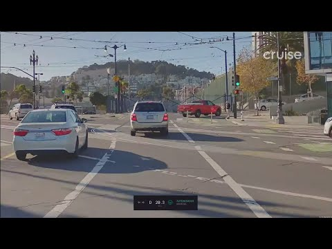Watch A Cruise Autonomous Vehicle Drive An Hour Continuously