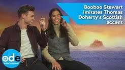 Descendants 2: Booboo Stewart imitates Thomas Doherty's Scottish accent