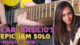 Baixar Lari Basilio - Epic Jam Solo (Music Is Win) | Darryl Syms Guitar Cover