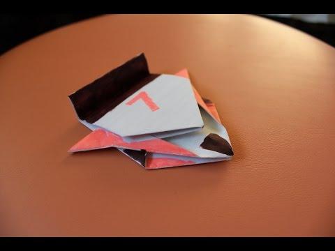 Как сделать машинку из бумаги.