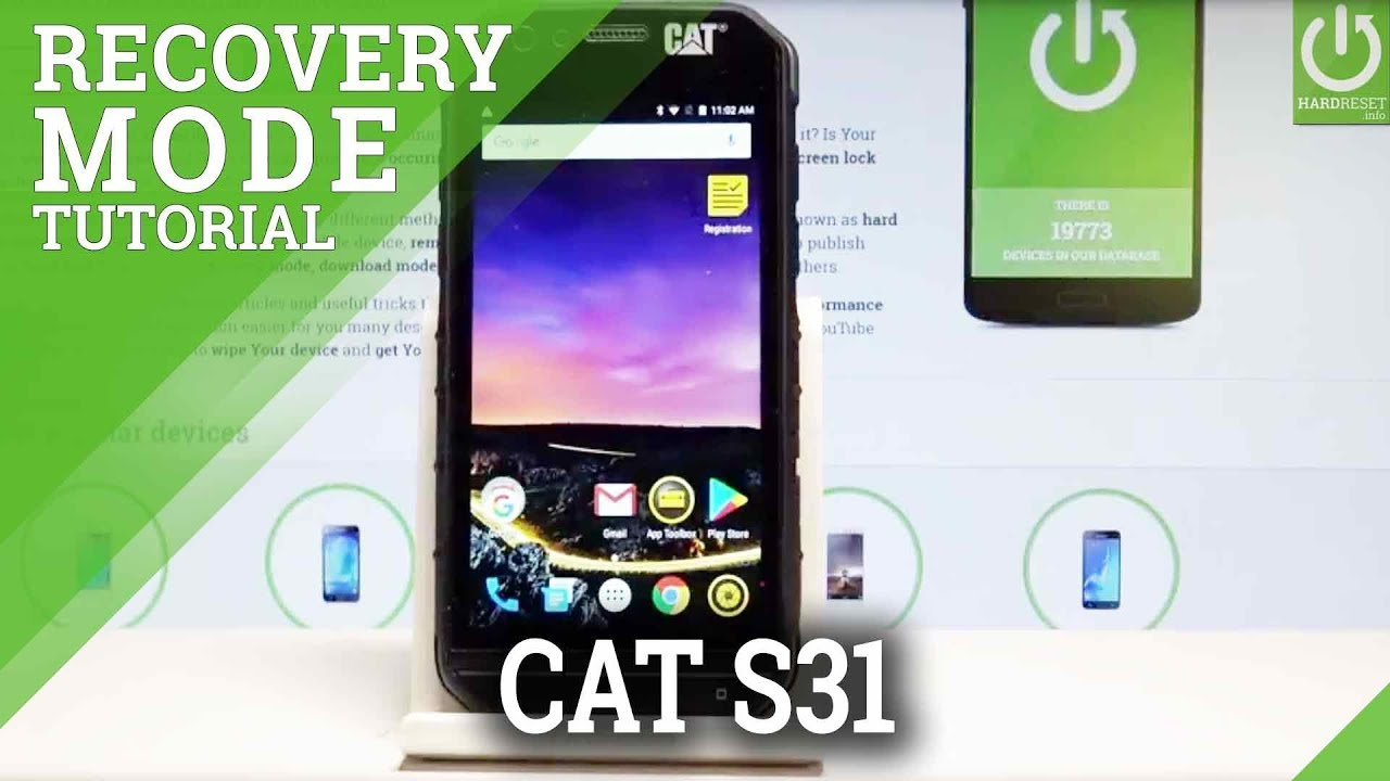 Recovery Mode CAT S31 - HardReset info