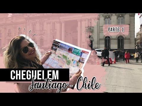 Vlog de Viagem: Santiago do Chile - Parte 1