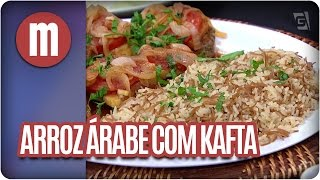Arroz árabe com kafta  - Mulheres (01/11/16)