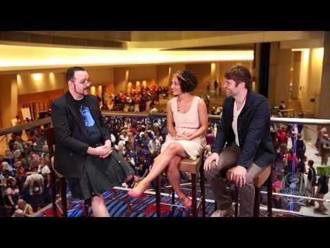 Jasika Nicole & Seth Gabel Dragon Con 2013
