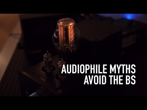 Audiophile Myths Part 1: MP3 VS FLAC, Cables, Sample Rates, Tube Amps, ETC