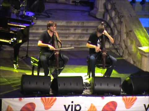 2CELLOS Rock Spectacle At 62nd Dubrovnik Summer Festival