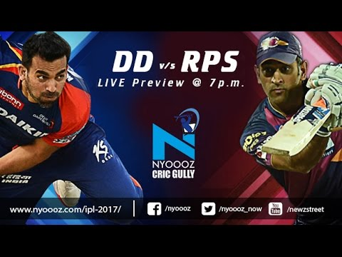 Live IPL T20 Delhi Daredevils Vs Rising Pune Supergiants match preview on Cric Gully